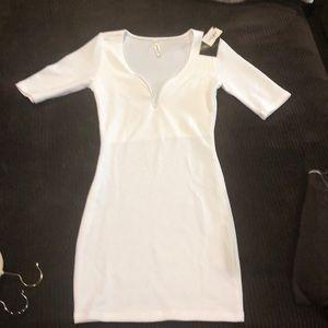 Brand new never worn white dress!